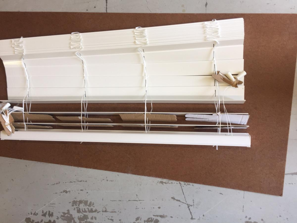 new faux wood venetian blind