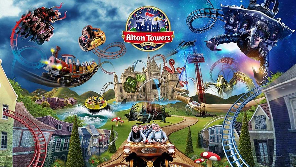 2 Alton towers tickets 21Sep Friday