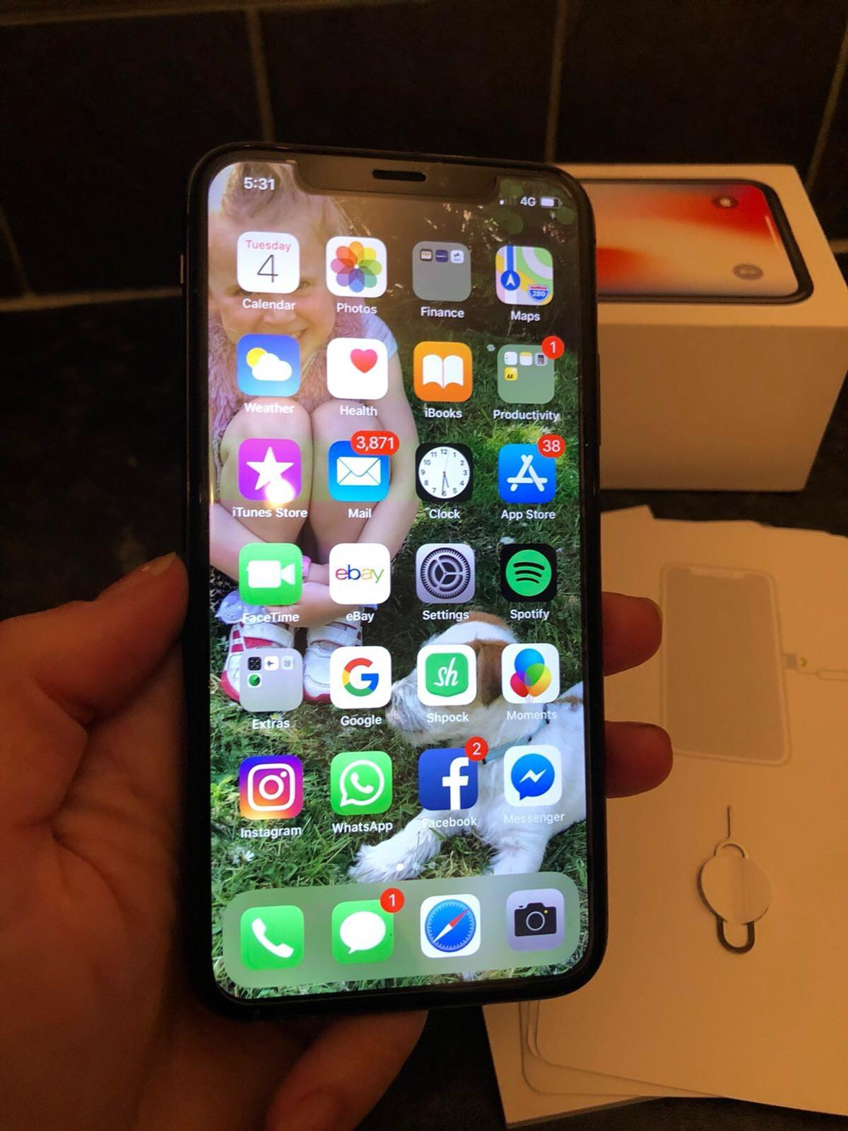 iPhone X unlocked in TF2 Oakengates for £620 00 for sale