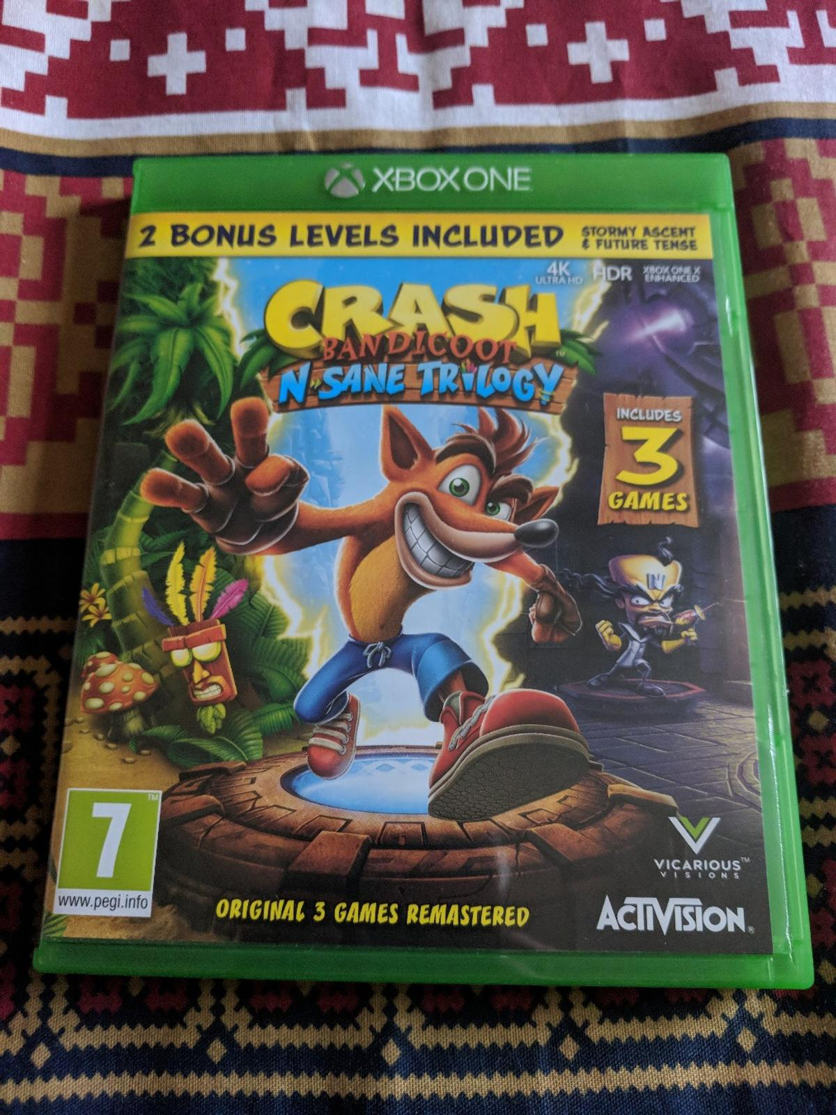 Crash Bandicoot Xbox One In Np19 Newport For 25 00 For Sale Shpock