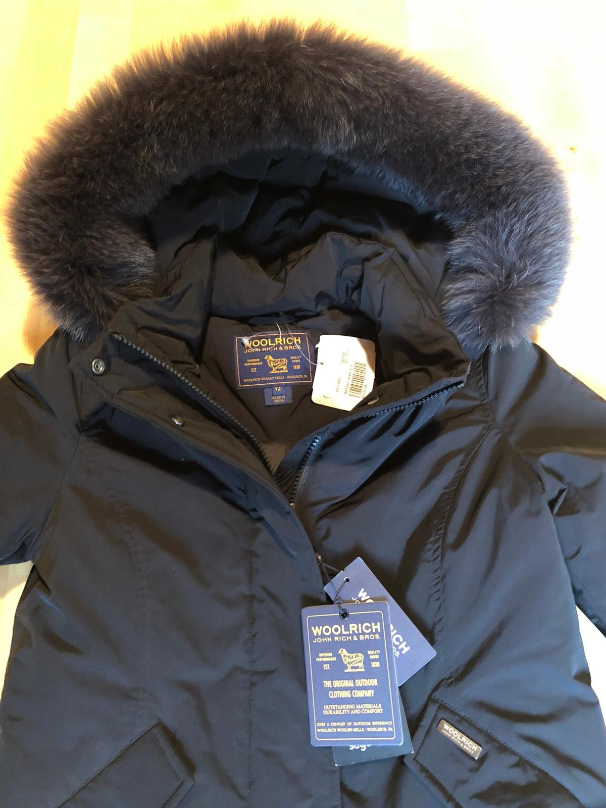 huge selection of b90a9 8d9b0 Woolrich Arctic Parka Luxury Schwarz XS 12