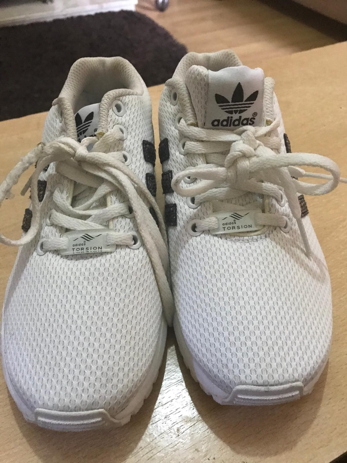 57cb8f1fe Adidas ZX FLUX Girls trainers uk size 4 in BD7 Bradford for £20.00 ...