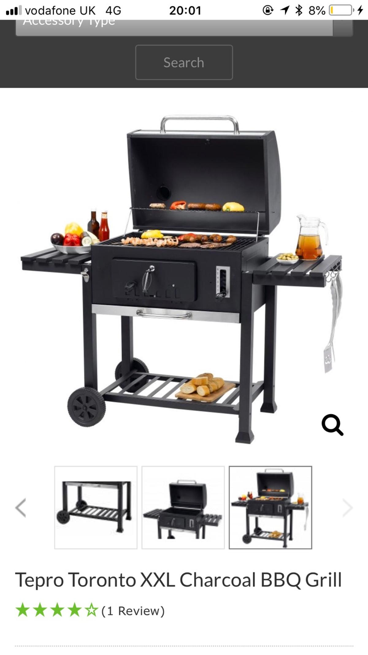 Tepro Toronto Xxl.Tepro Toronto Xxl Charcoal Bbq Grill In Sn2 Swindon For