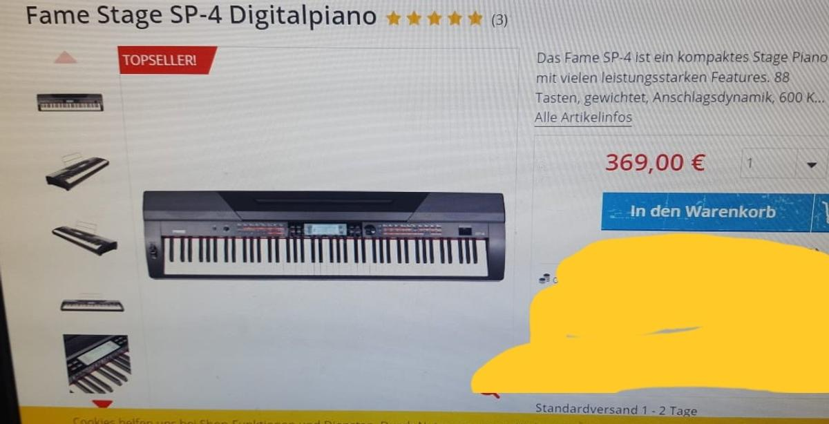 Fame Stage SP-4 Digitalpiano