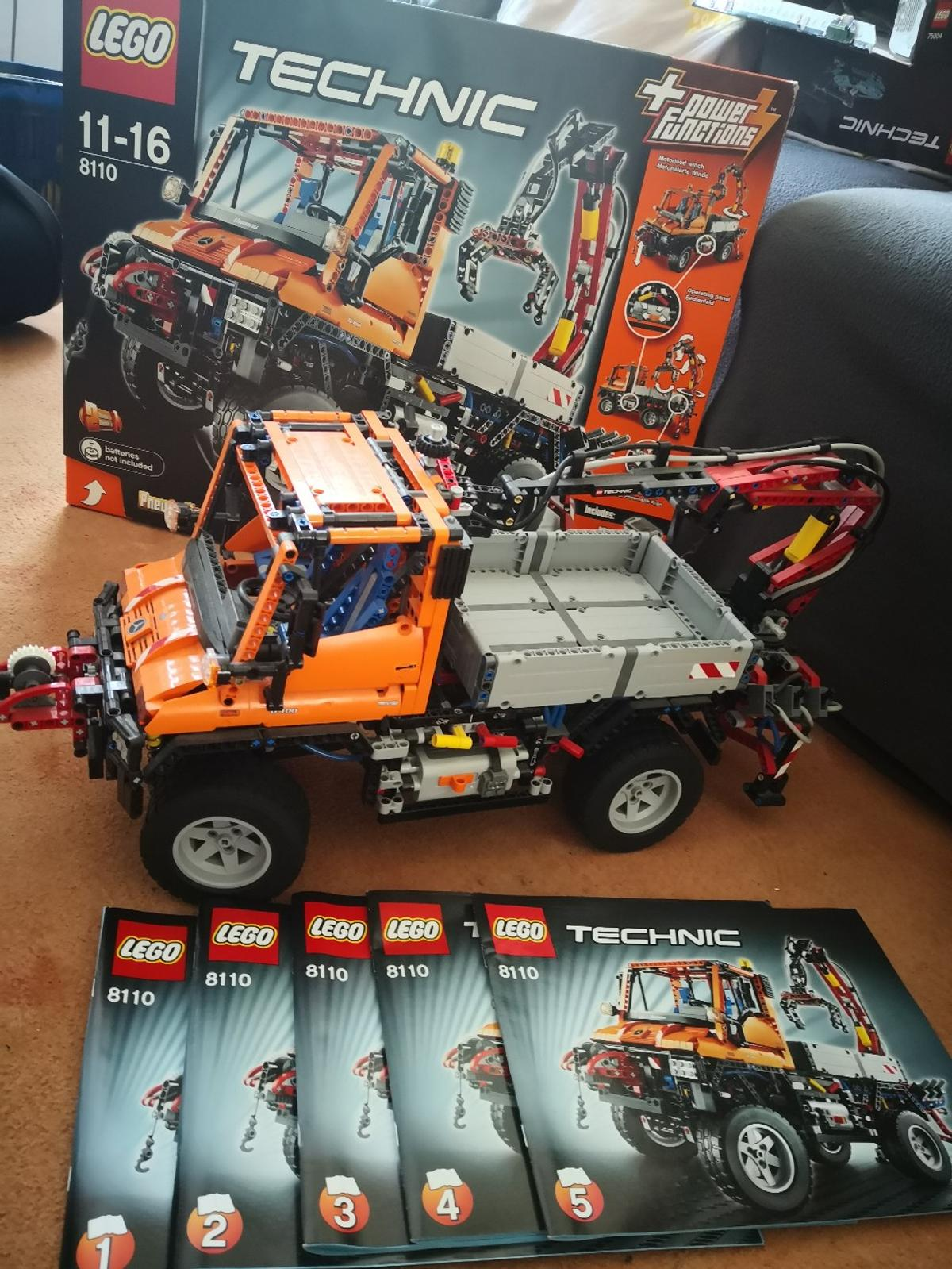 Lego Technic Unimog U400 8110 Vb In 14772 Brandenburg An Der