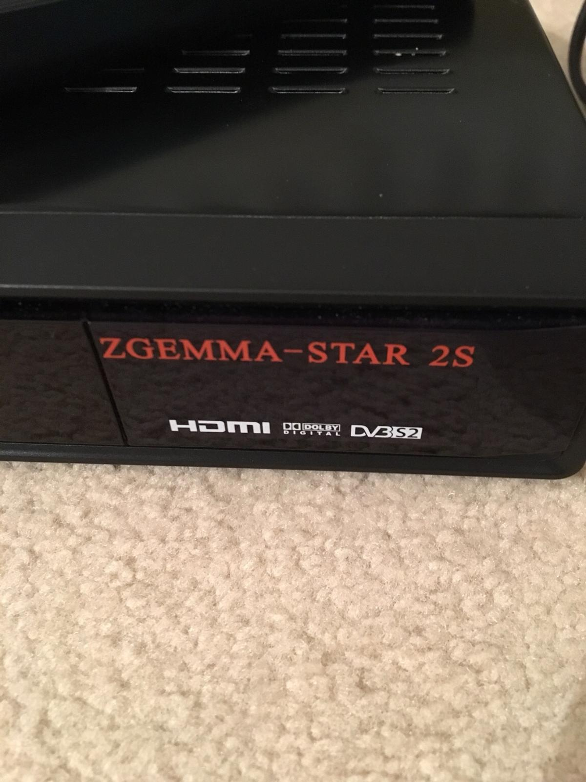 Zgemma Star 2S Satellite Box in WA8 Green for £25 00 for