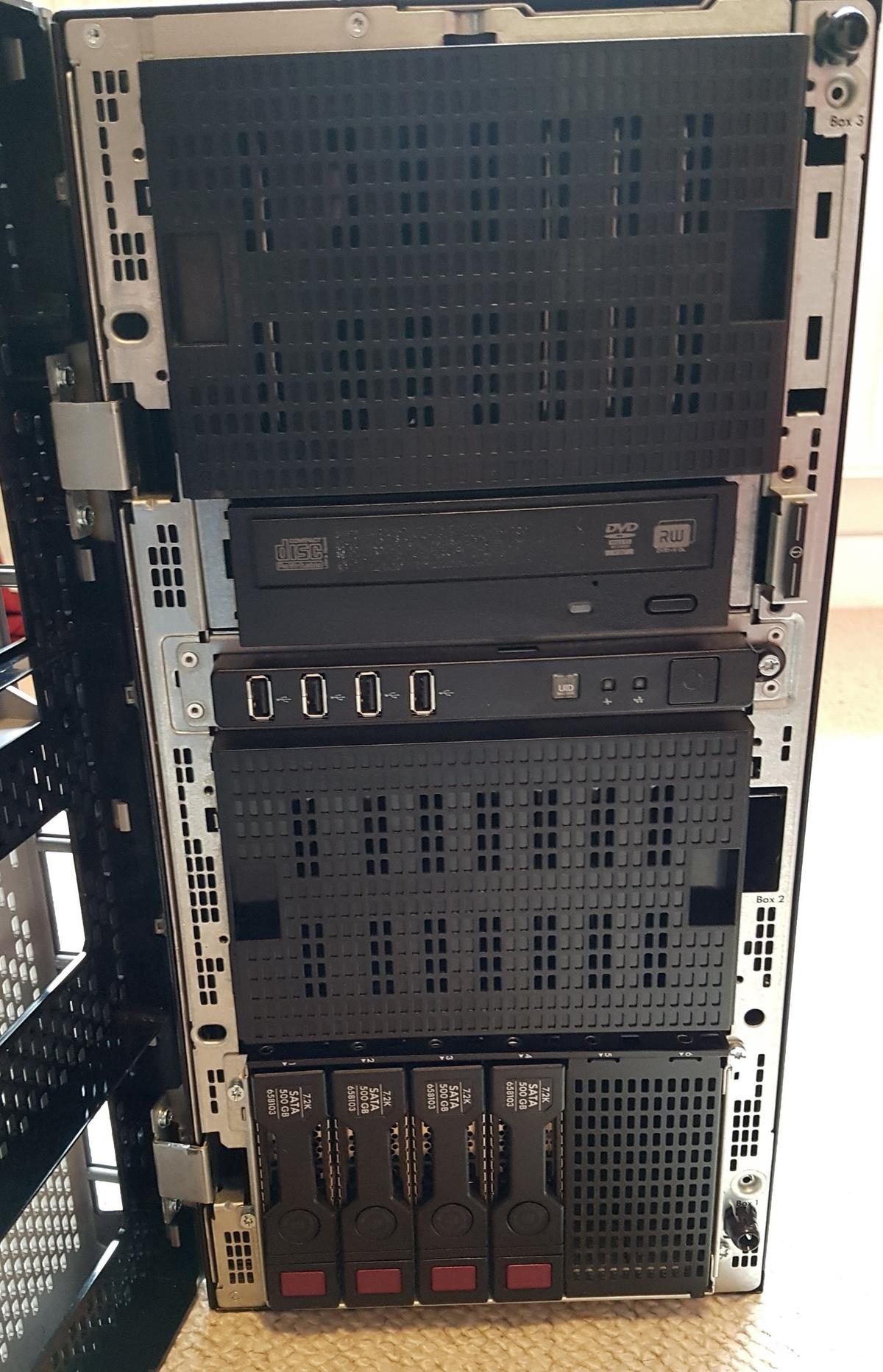 HP ProLiant ML350e Gen8 Server  Xeon, 2TB HD in RG6 Shinfield for