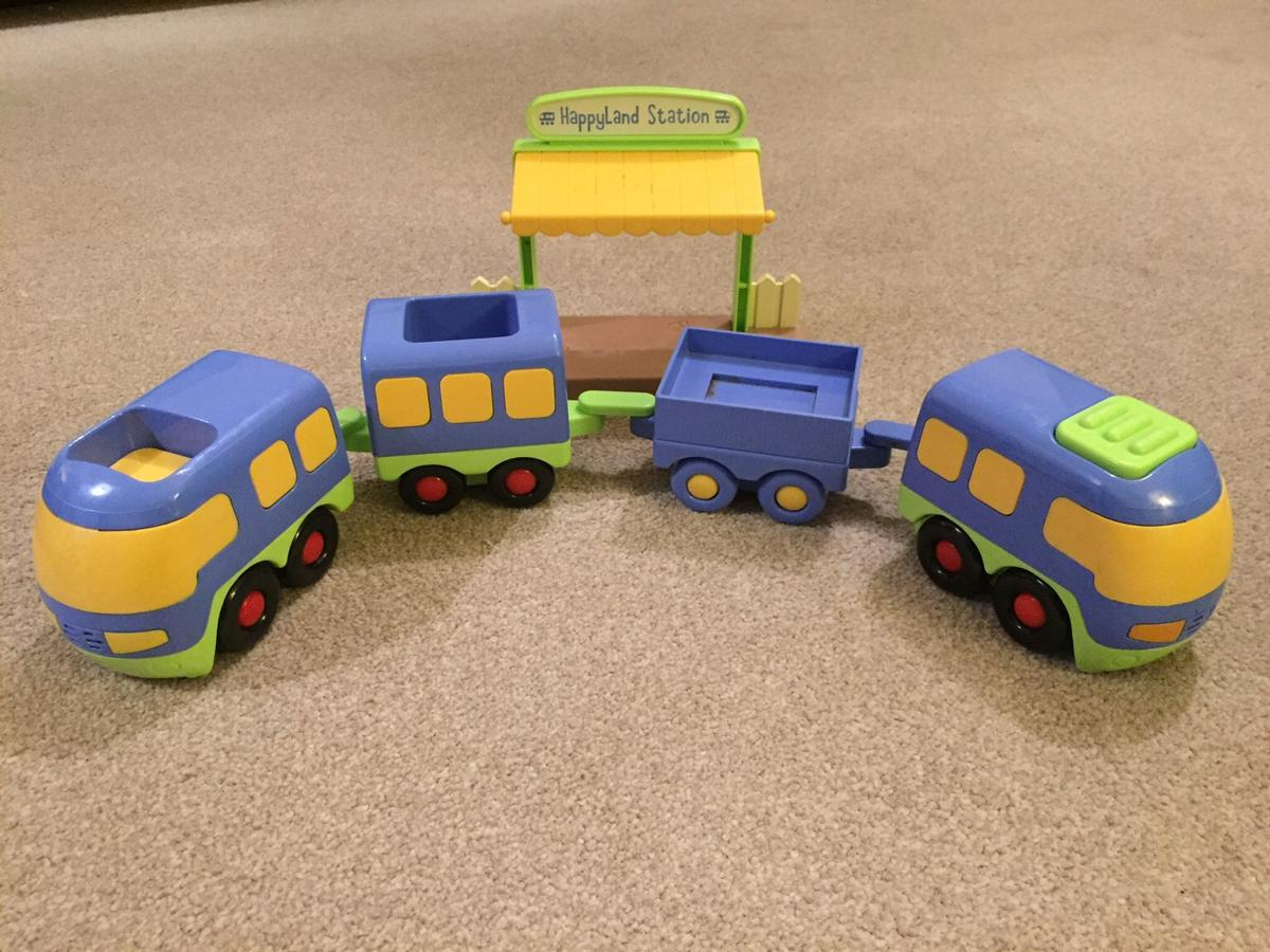 ELC Happyland train track and train in Houghton Conquest for £20 00