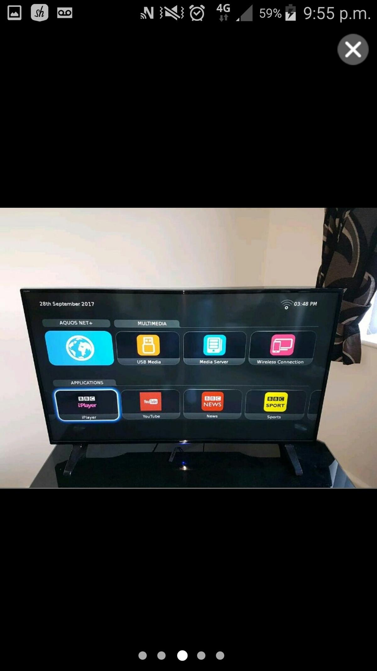 SMART TV 43 INCH FULL HD WITH WIFI in BB12 Burnley for £150 00 for