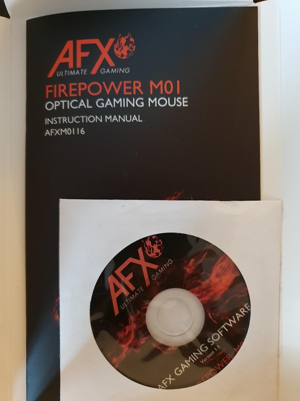 AFX Gaming Keyboard and Mouse with Software in CV21 Rugby