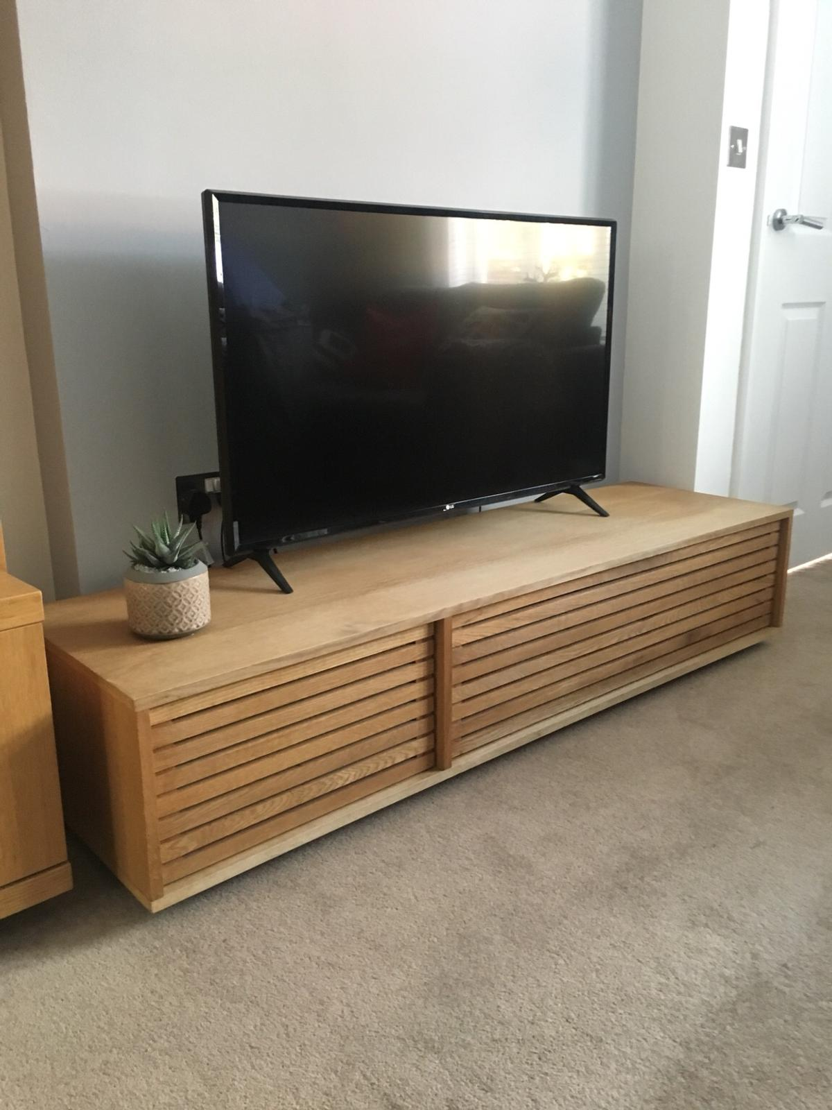 Habitat MAX Oiled oak large TV stand in LS13 Leeds for £125 00 for