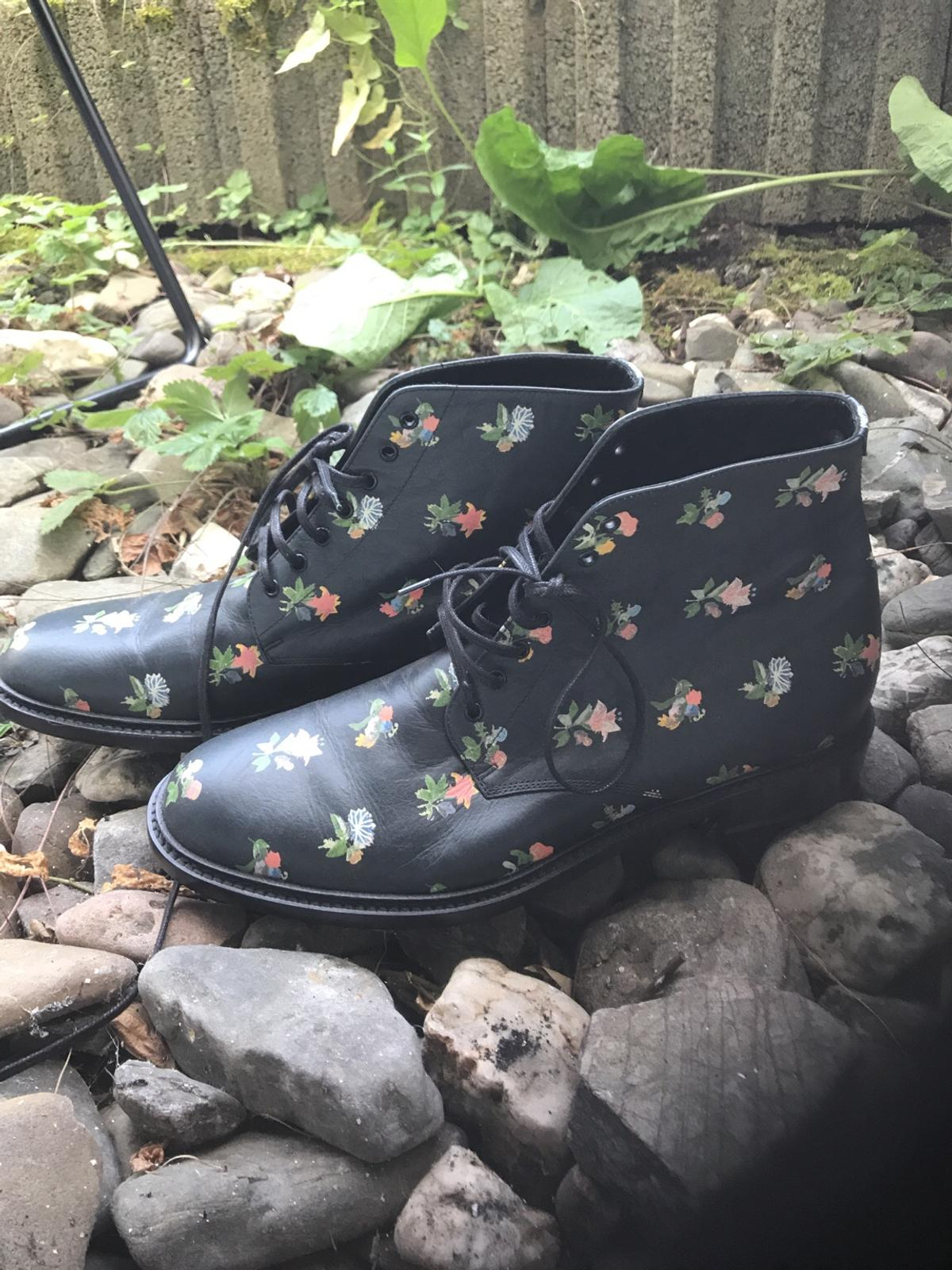 Lolita lace up ankle boots size 41