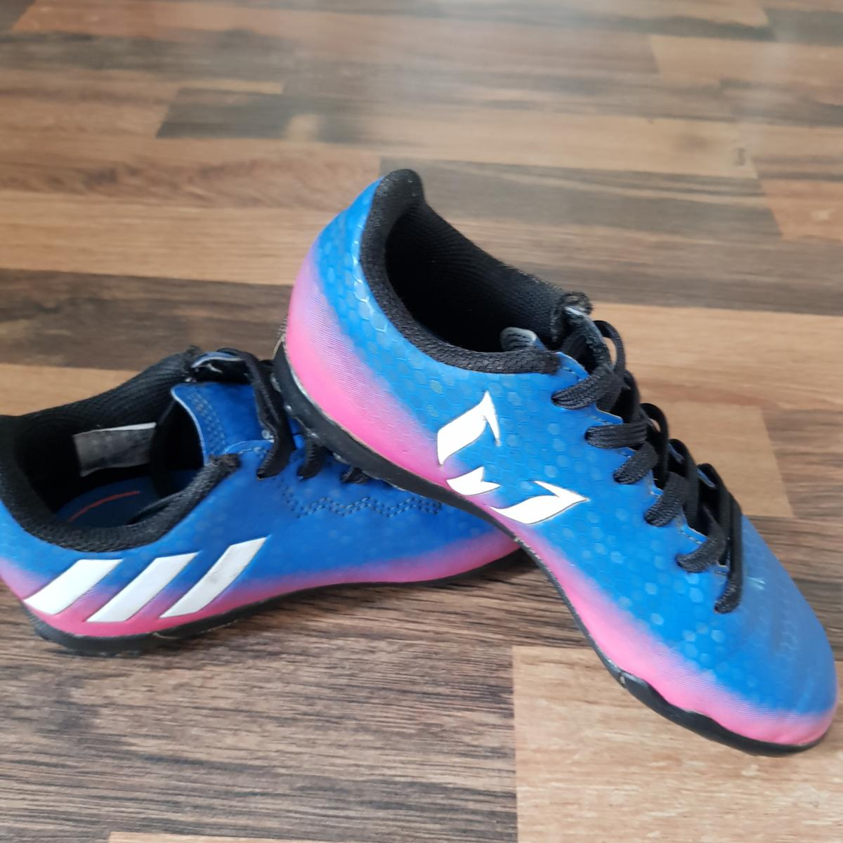 online for sale buying new wholesale dealer kids size 13 Messi football trainers