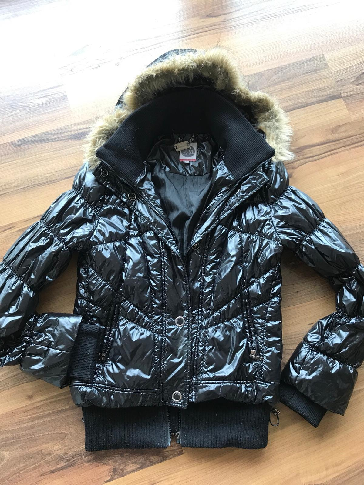 Winterjacke 17&Co, schwarz