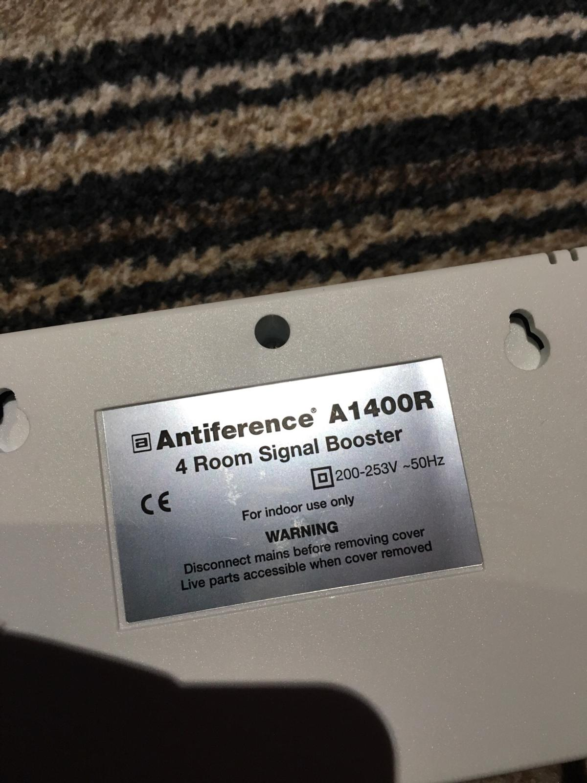 Tv Antiference A1400R 4 room signal booster
