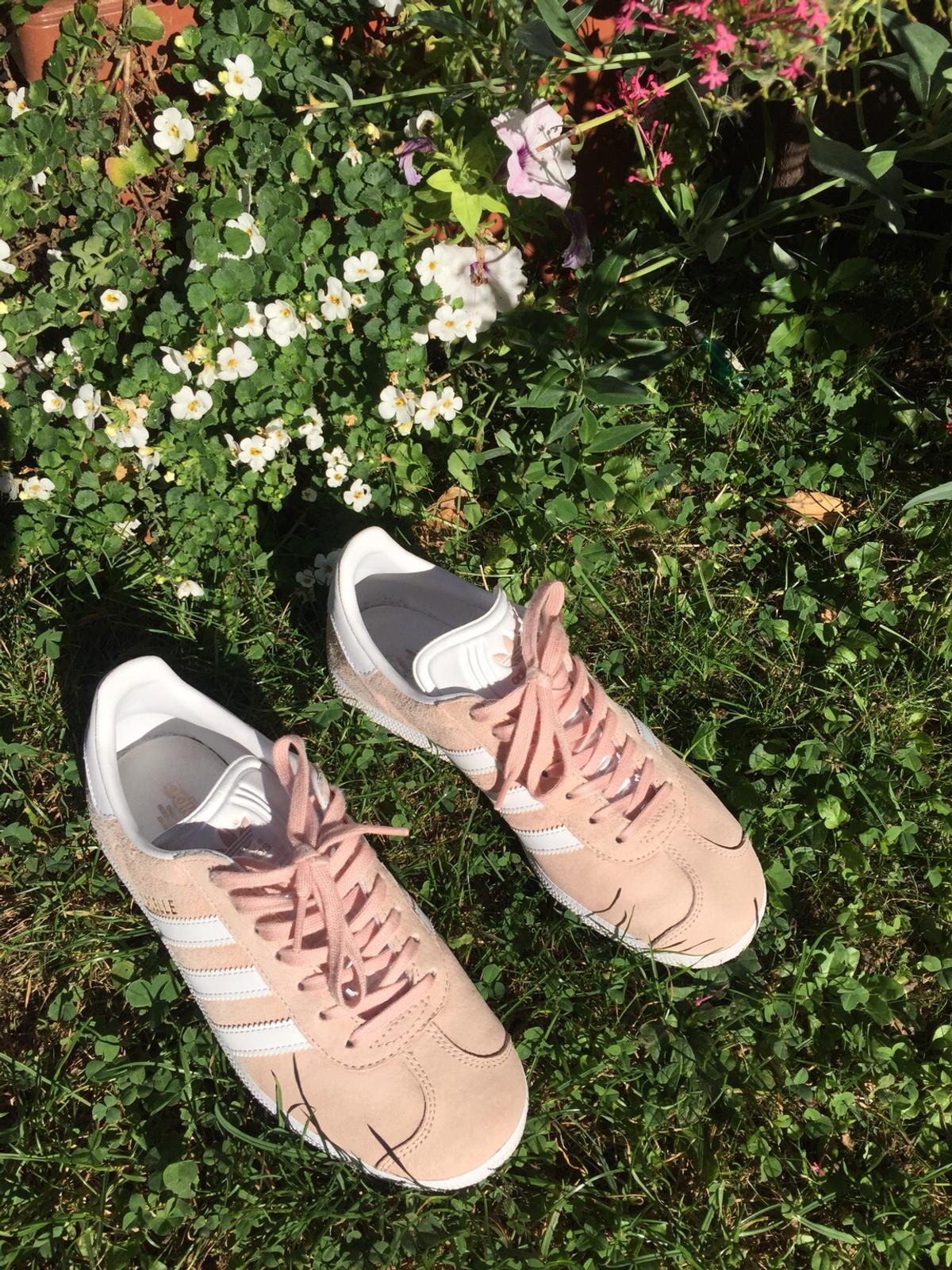 adidas rosa weiss