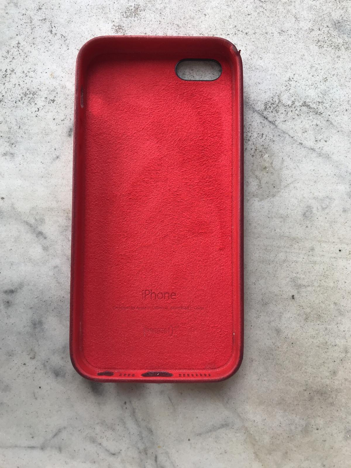 cover iphone 5s rosso