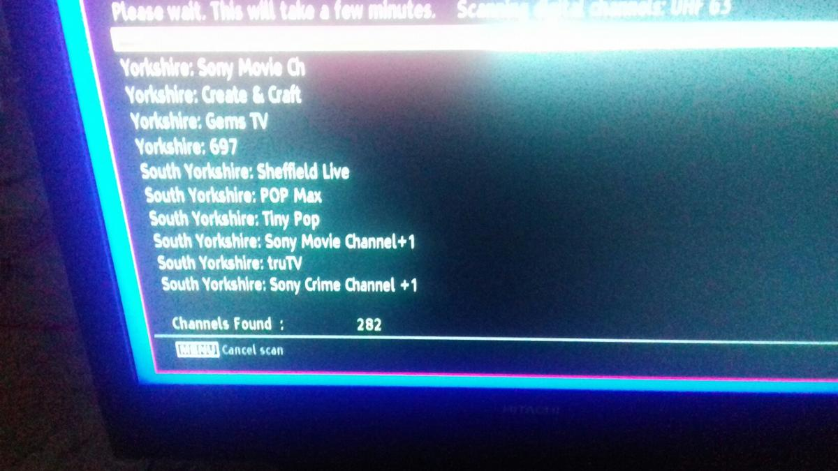 Hitachi 26 inch television in Rotherham for £30 00 for sale