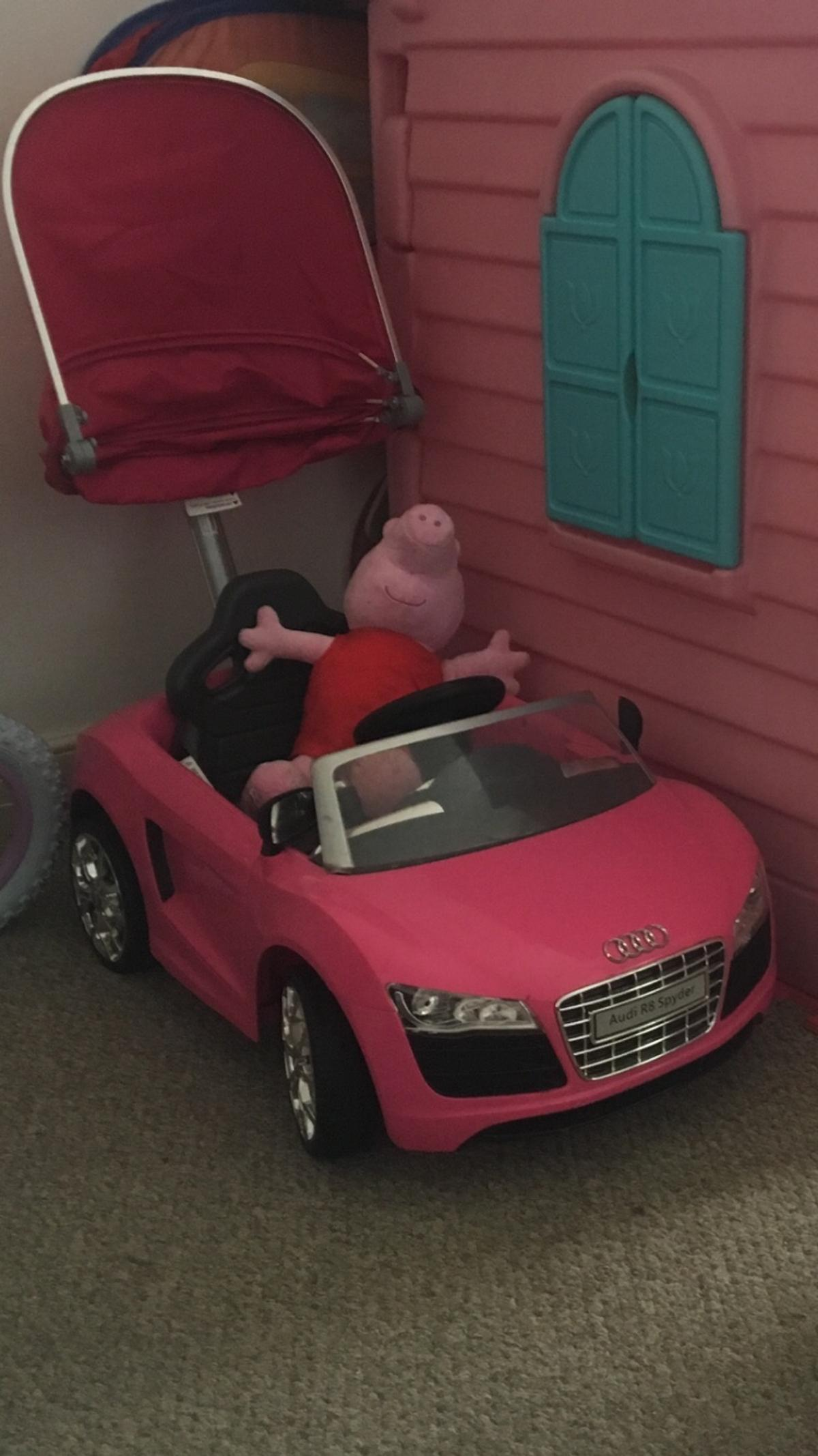 Pink Audi Convertible Girls Car In W6 London For 30 00 For Sale Shpock
