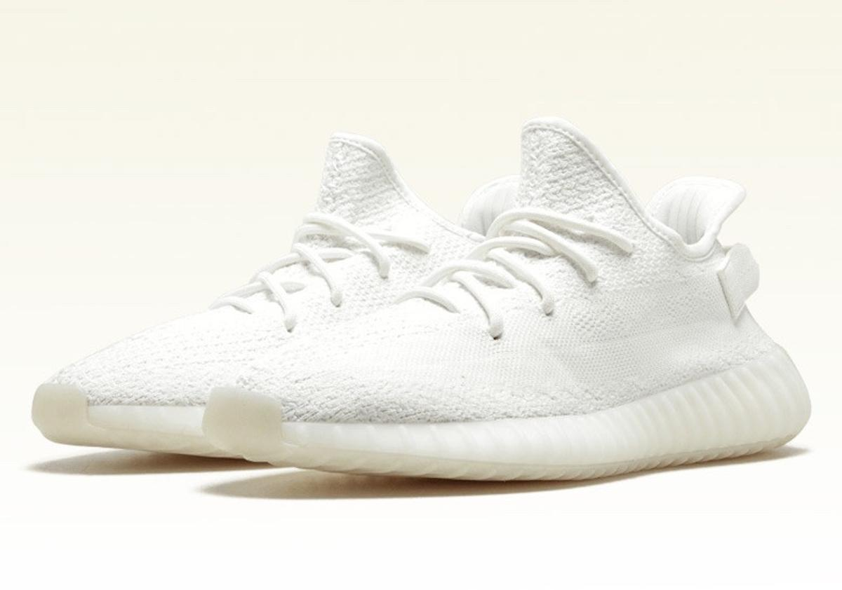 best service 92bfe fd8aa Adidas Yeezy Boost Triple White 350 V2