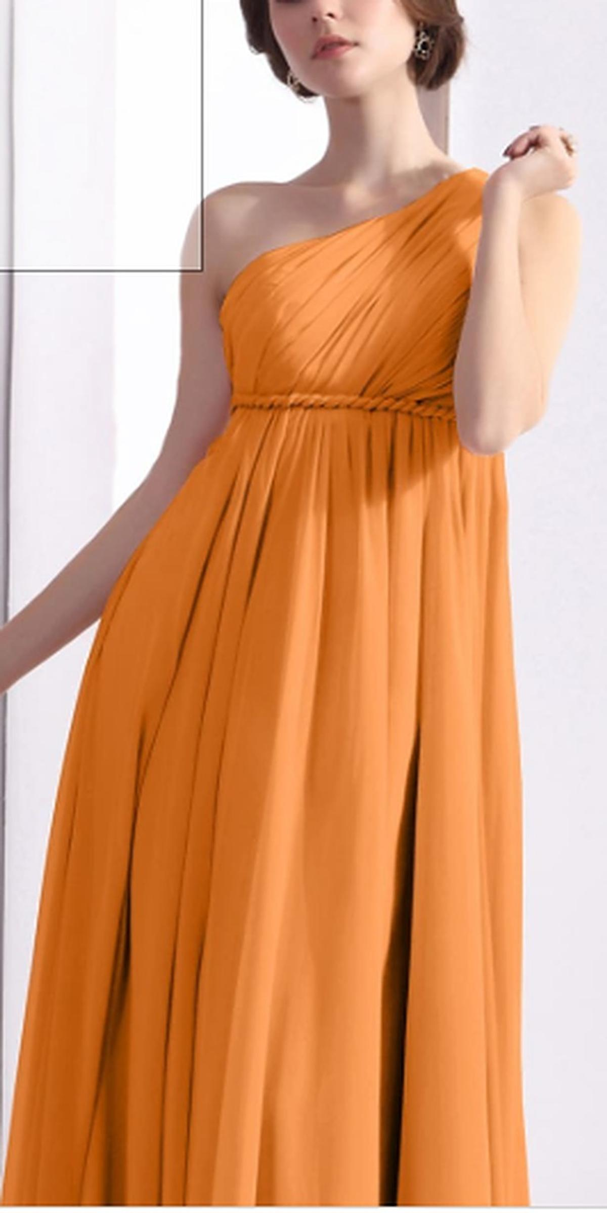 one shoulder kleid gr.40
