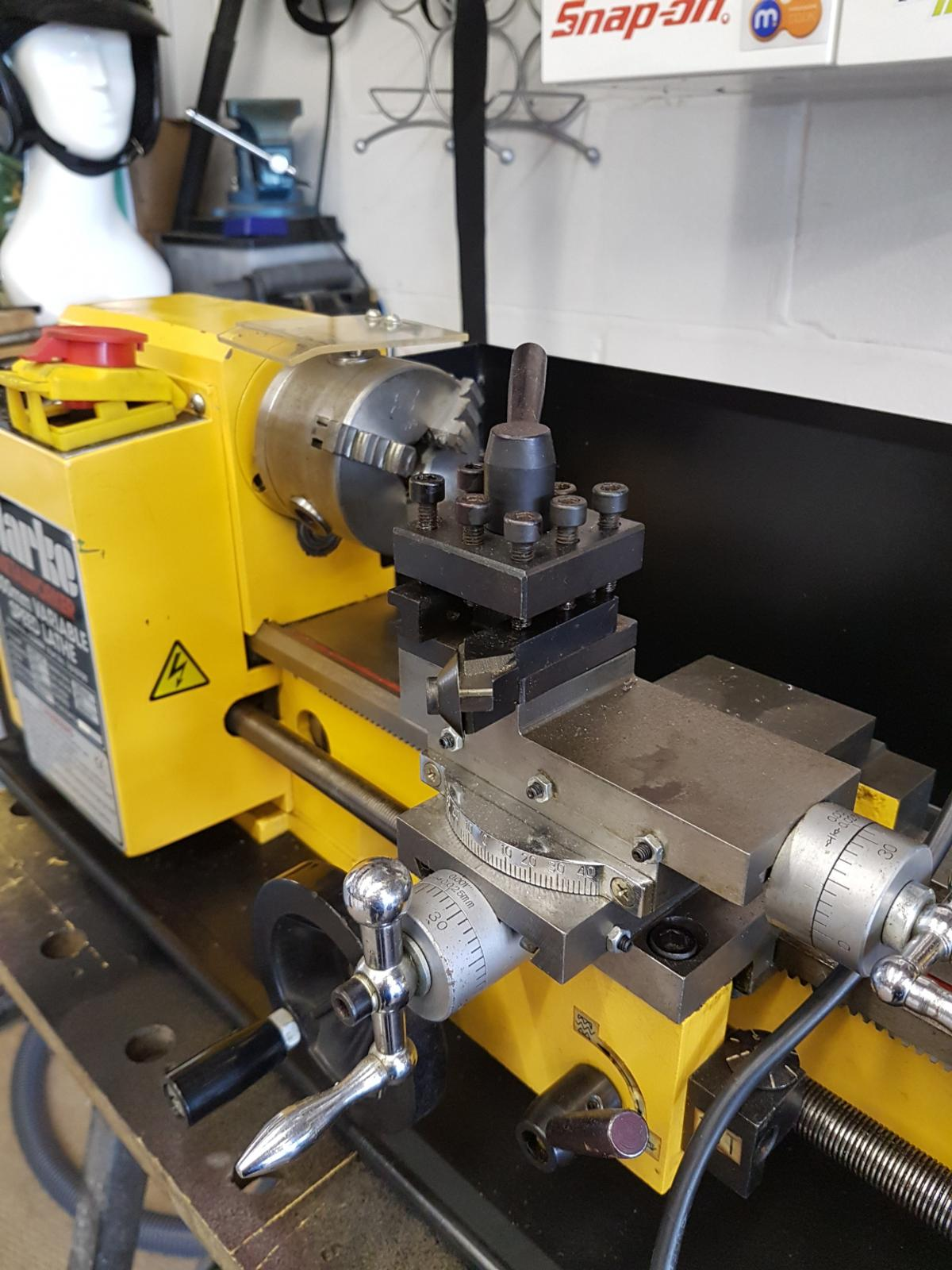 metal lathe, clarke cl300m in Wakefield for £300 00 for sale - Shpock