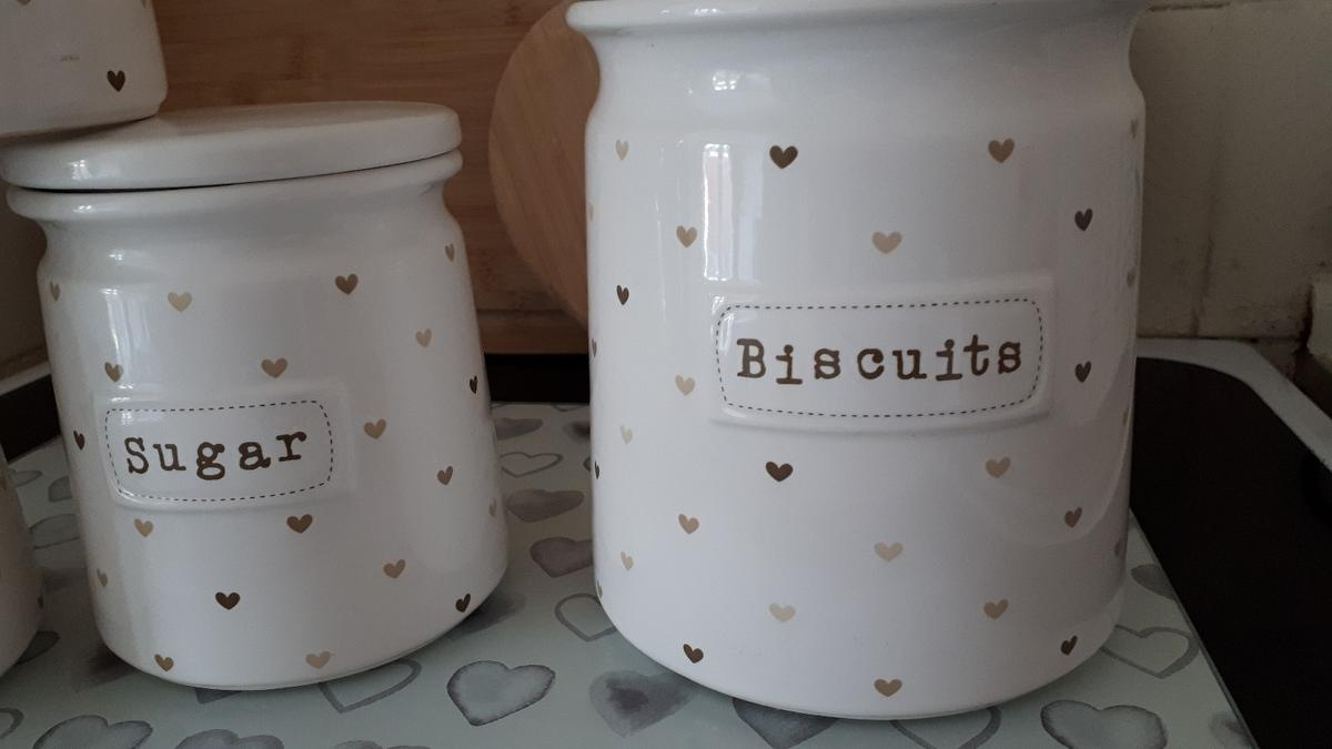 Dunelm Storage Jars And Worktop Saver In South Staffordshire For 12 00 For Sale Shpock