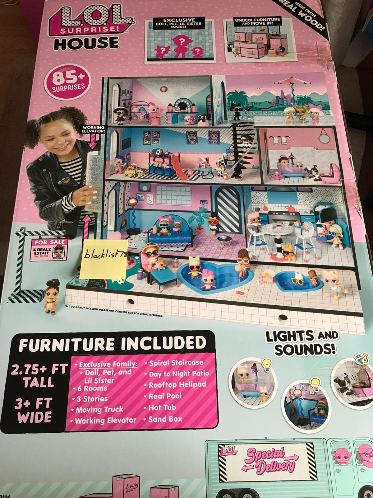 LOL SURPRISE DOLL HOUSE BRAND NEW IN STOCK