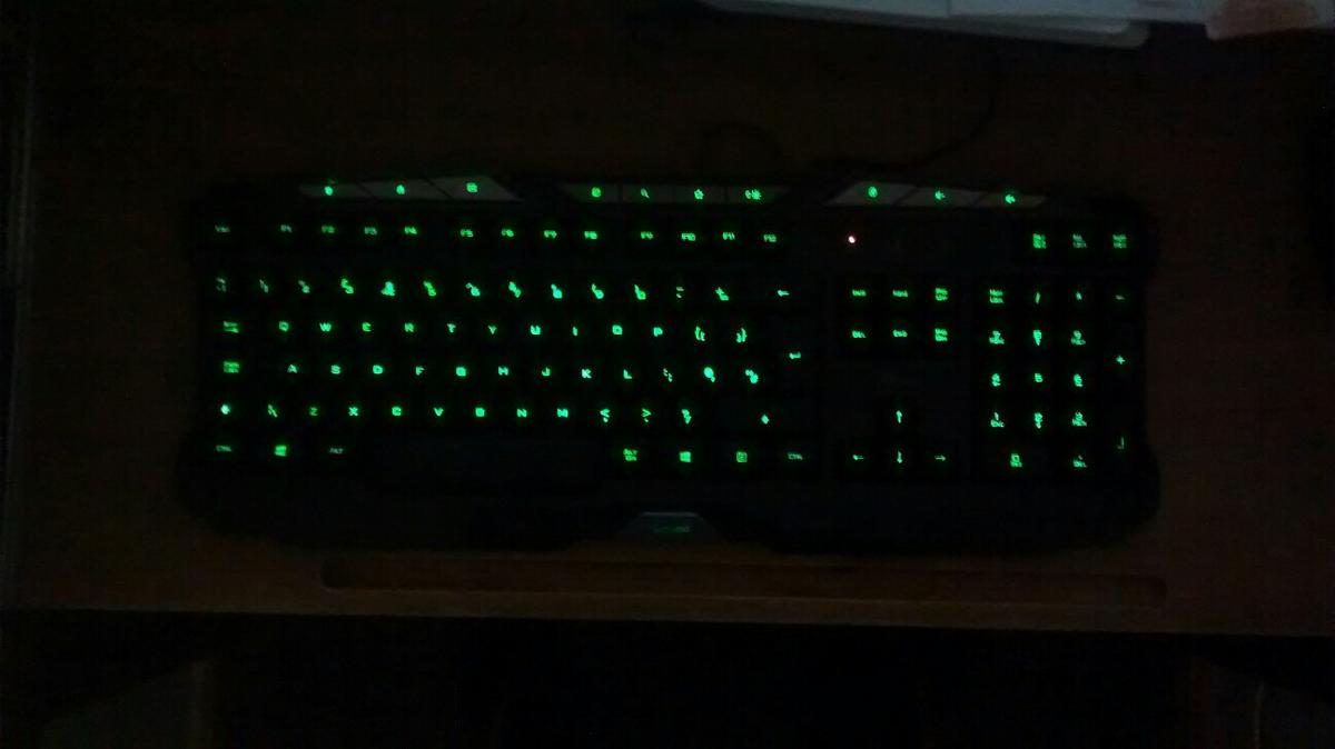 Trust GX280 PC Gaming Keyboard - As New in BD18 Bradford for