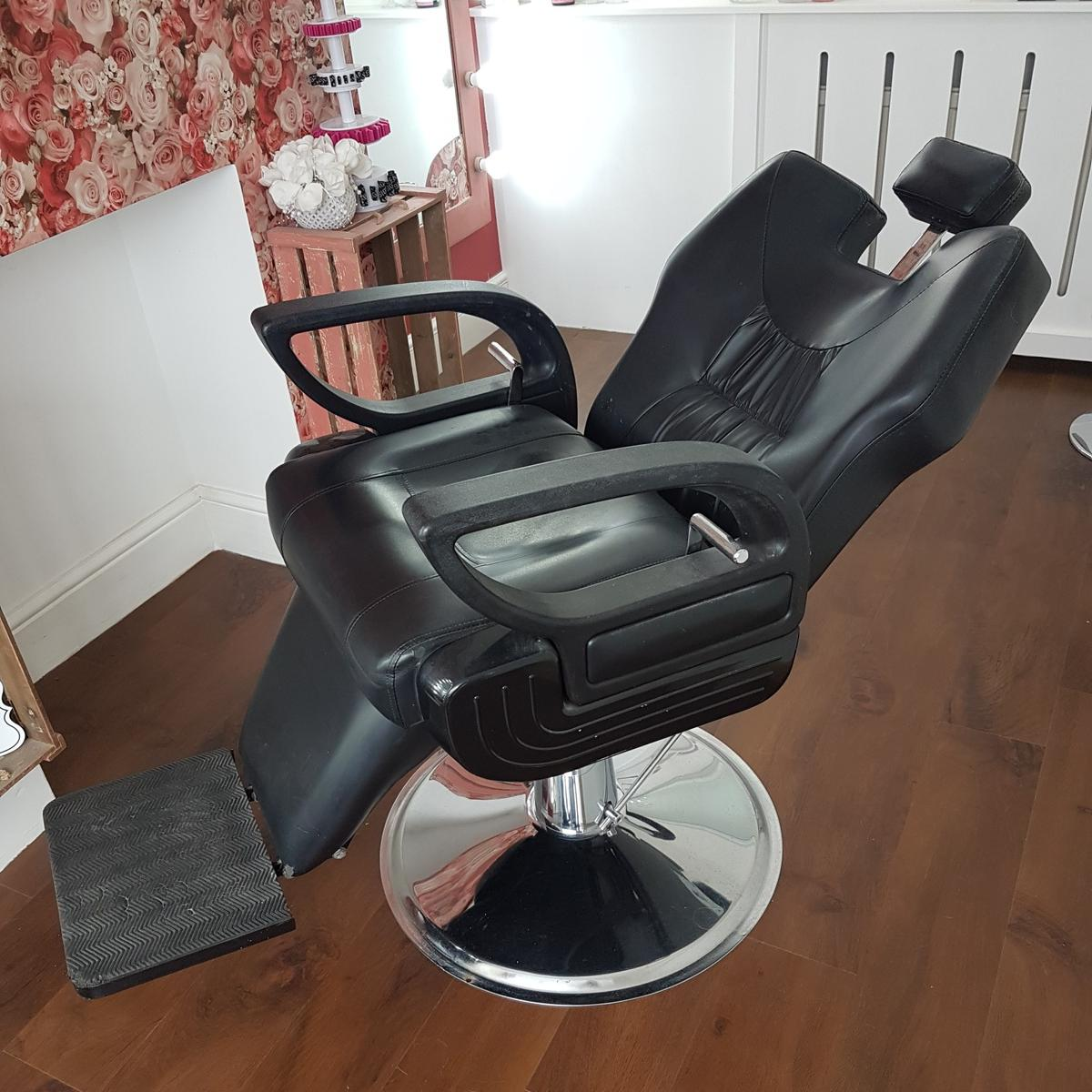 Enjoyable Salon Hair Beauty Barber Brows Chair Recliner Gmtry Best Dining Table And Chair Ideas Images Gmtryco