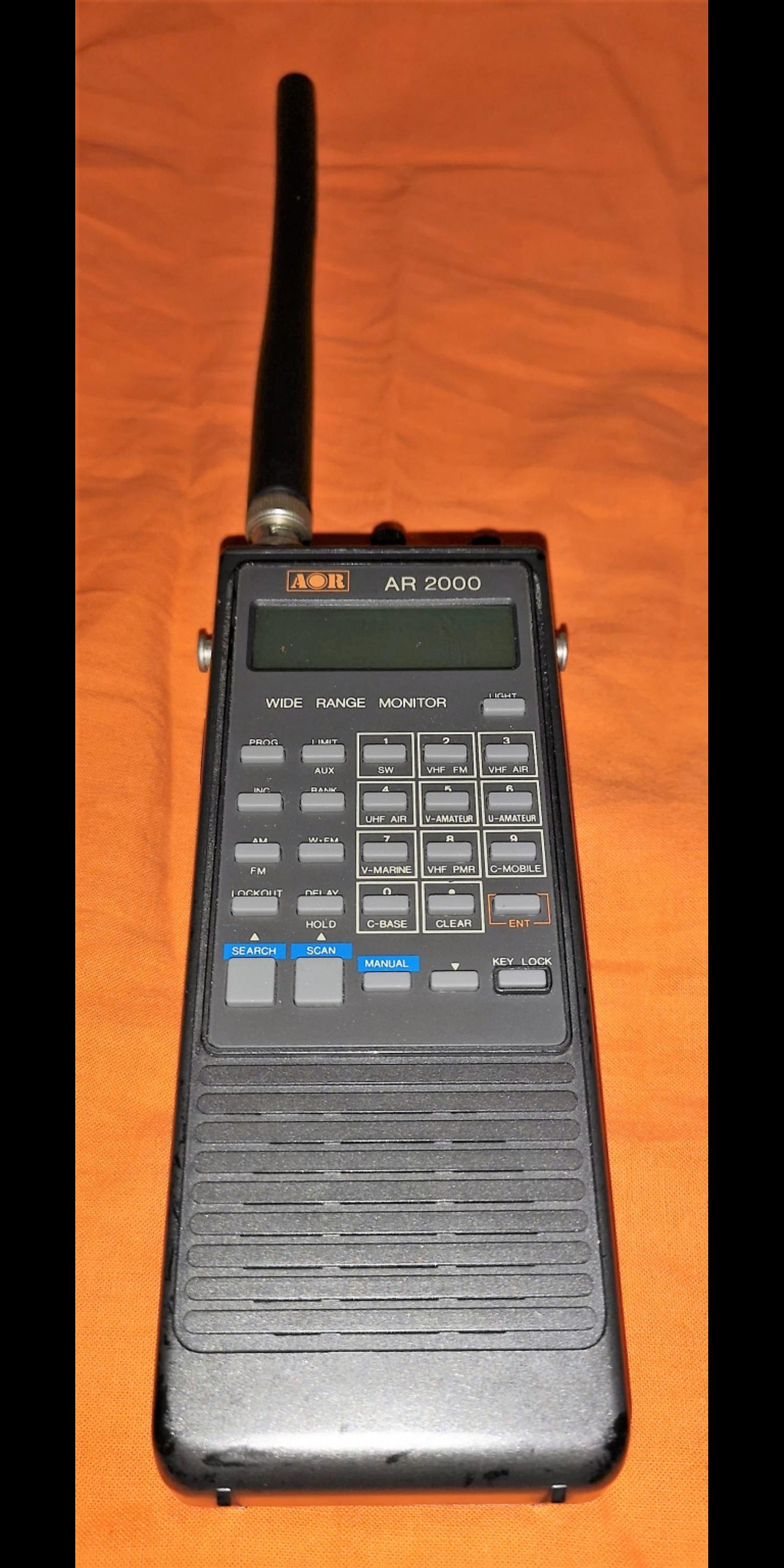 AOR AR-2000 Wide Range Monitor Hand Scanner in SW18