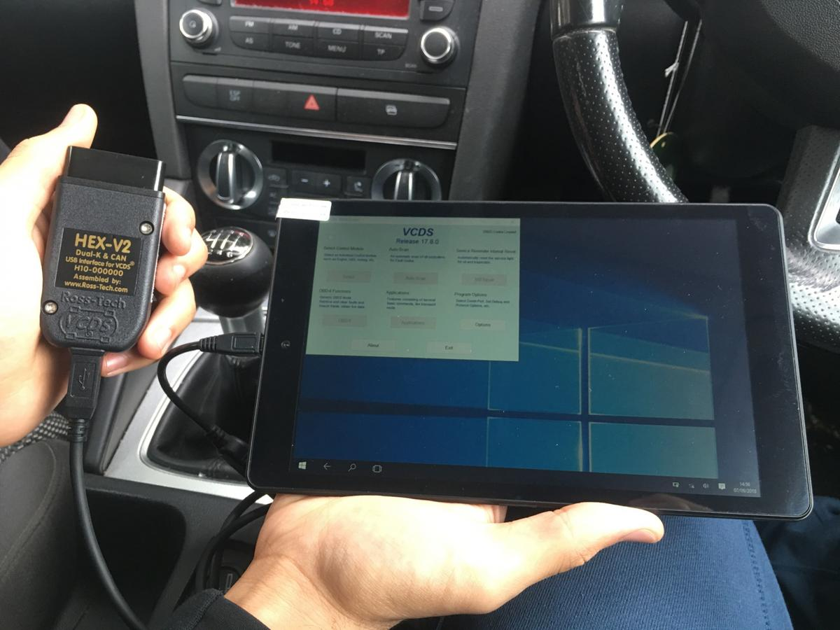 Vag Com Ross Tech Diagnostic Tablet 8Inch in CV3 Coventry for
