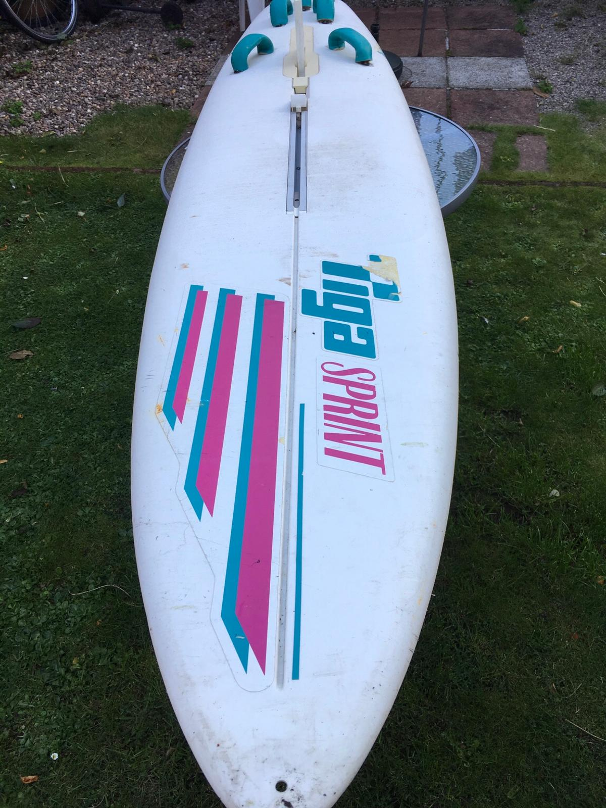 Tiga sprint wind surf board and sail in DL3 Faverdale for £20 00 for