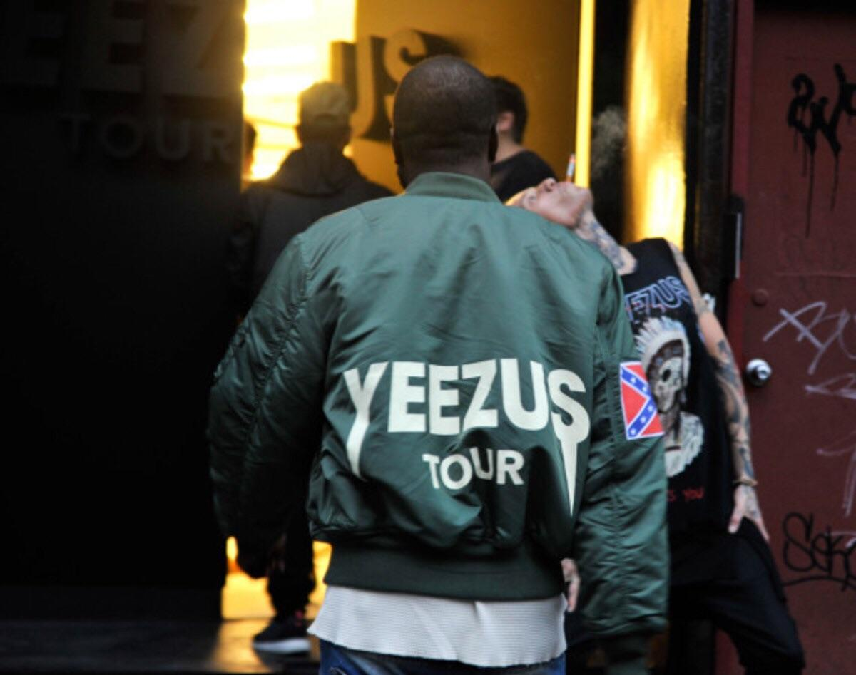 YEEZY BY KANYE WEST YEEZUS TOUR BOMBER JACKET in KT2 Thames