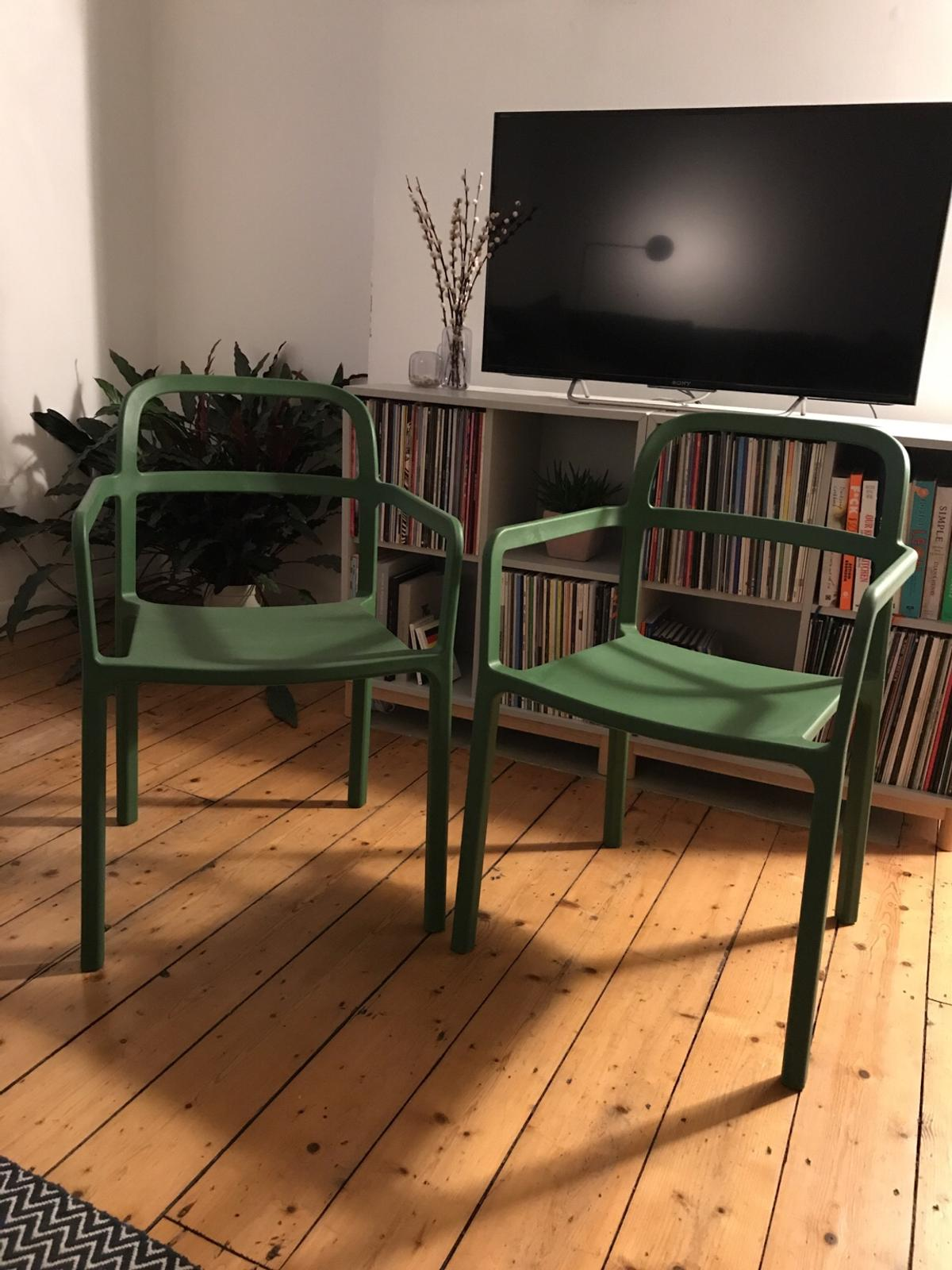 Ikea x HAY Ypperlig Chairs (Green)