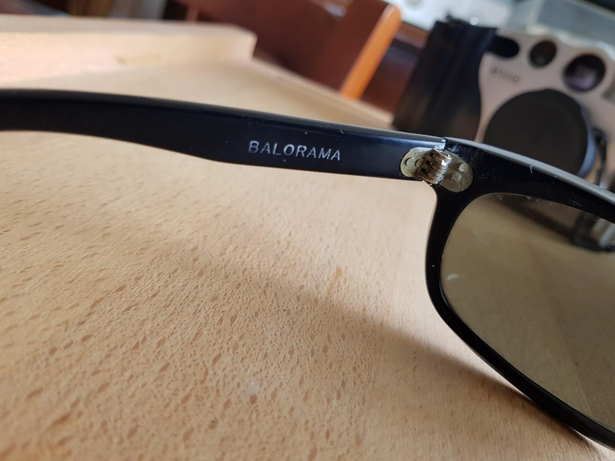 ray ban balorama made in usa