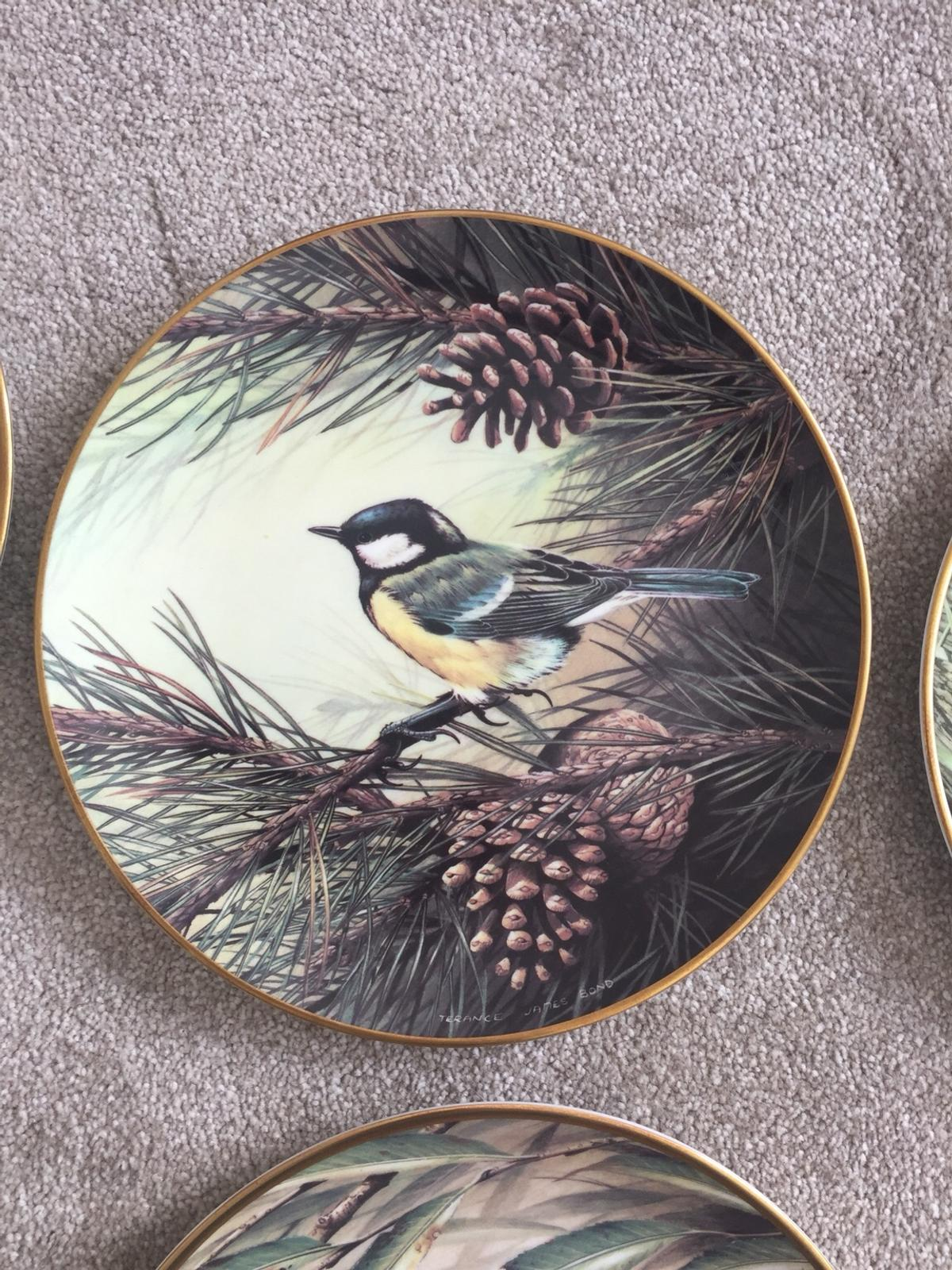RSPB Wedgwood Centenary Plates Collection x10 in Kelsall for
