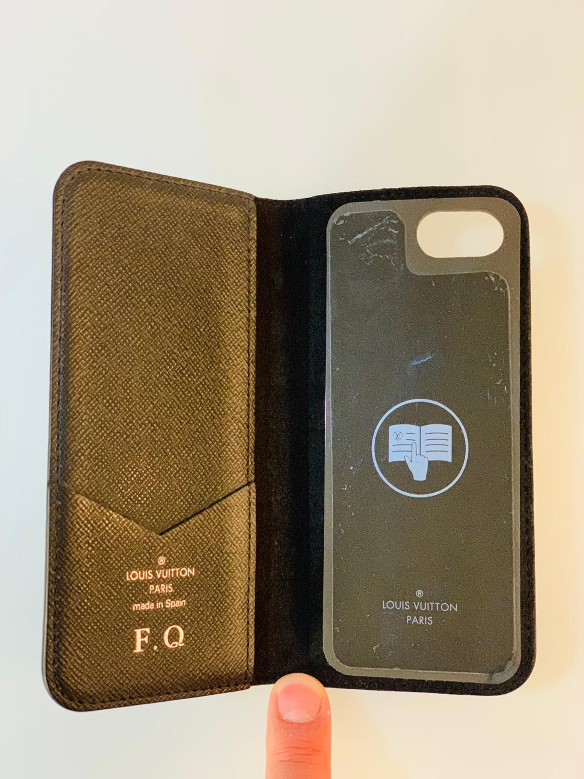 304608ed34 Louis Vuitton iPhone 7/8 leather folio case in SE17 London for ...