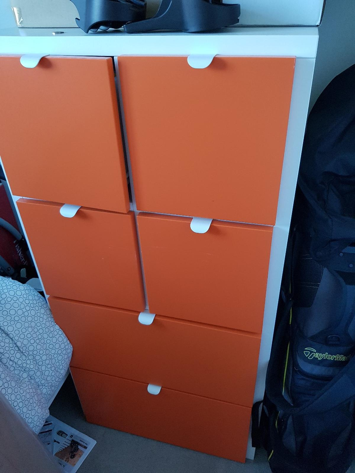 Visthus Ikea Chest Of Drawers Orange White In W12 London For