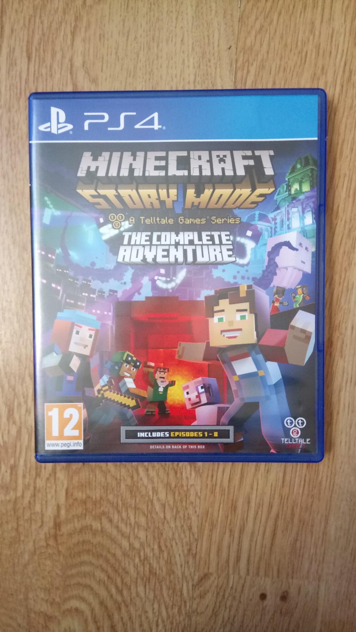 Ps4 Minecraft story mode, the complete advent