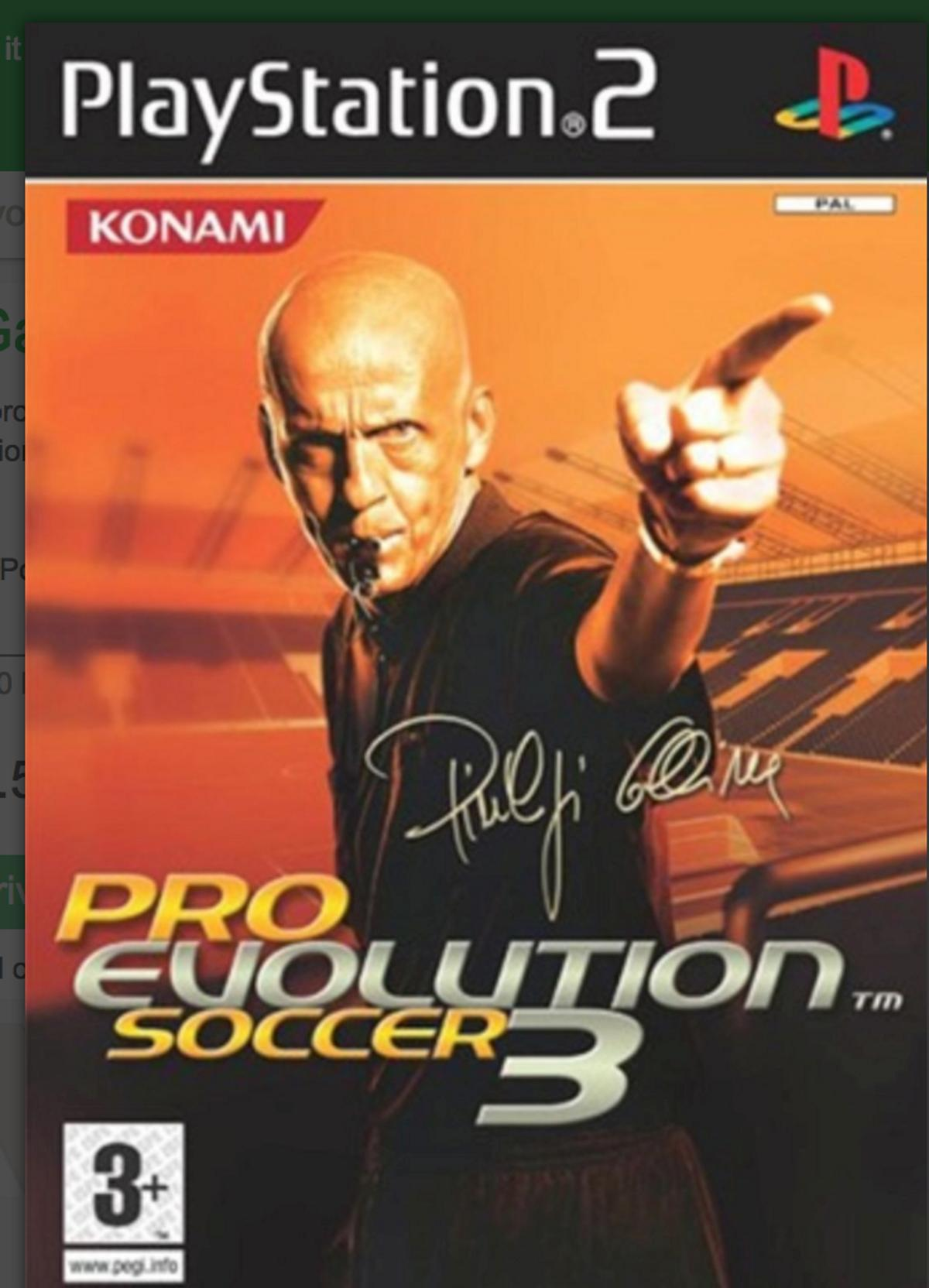 PS2 Game PES Collection *3