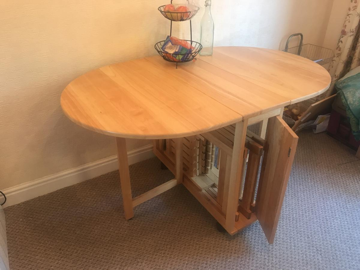 Swell Dunelm Mill Folding Oval Dining Table In Kirklees Fur 60 00 Alphanode Cool Chair Designs And Ideas Alphanodeonline