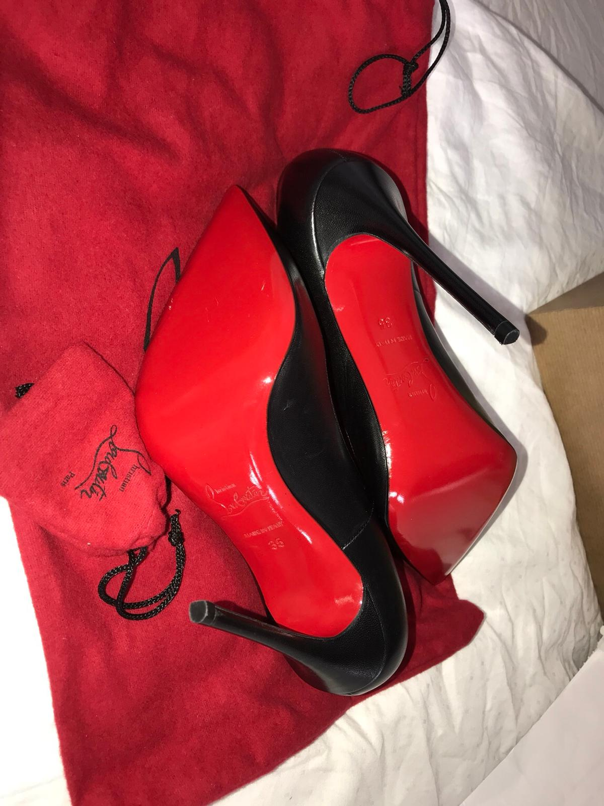the best attitude 780f7 6ff0b Christian Louboutin So Kate 120 leather Pumps in E3 Hamlets ...