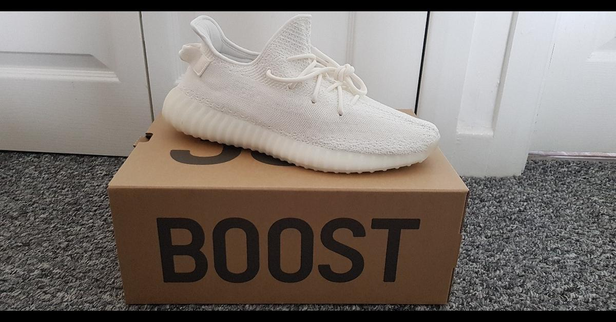 97129e524 Adidas Yeezy Boost 350 Triple White in CF62 Barry for £250.00 for sale -  Shpock