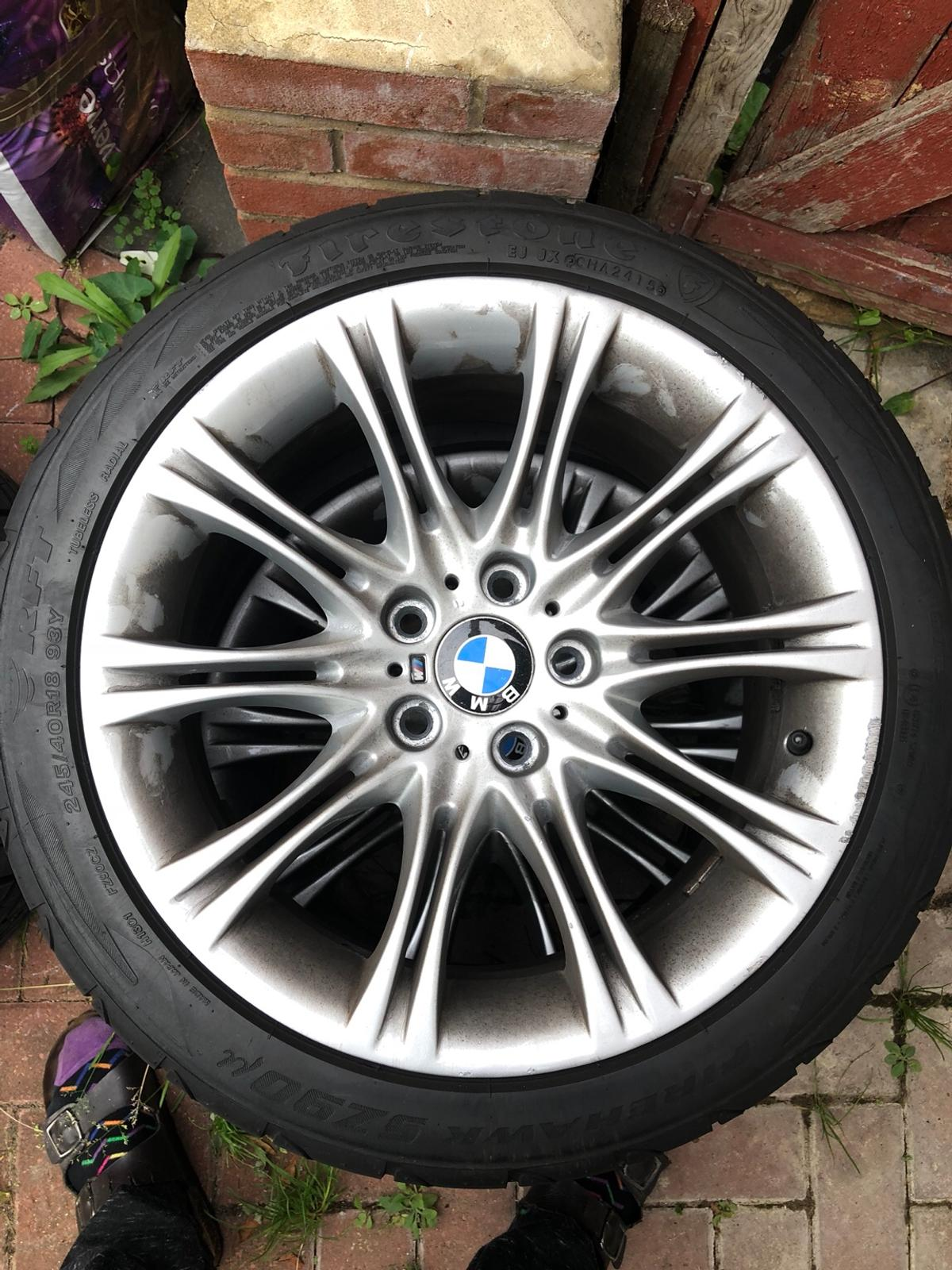4x Bmw 5 Series E60 18 Alloys 245 40 18 In Sw19 London For 350 00 For Sale Shpock