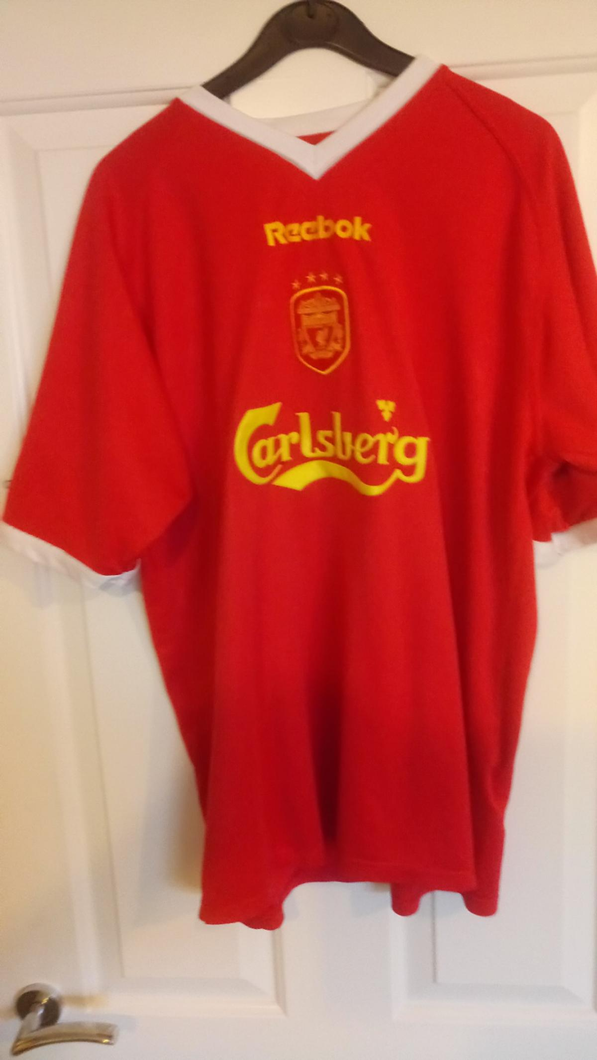 low cost 6aab7 e566f Liverpool FC European shirt 2001-2003