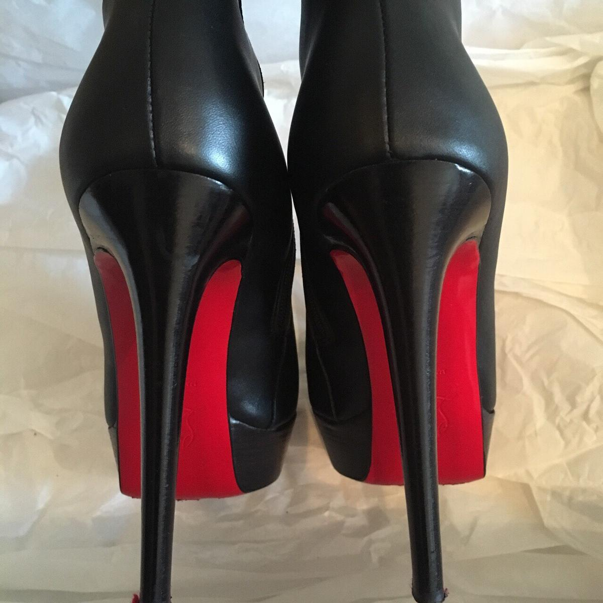 newest 97487 c5ffe Authentic Louboutin Boots for sale!! in SW15 Wandsworth for ...
