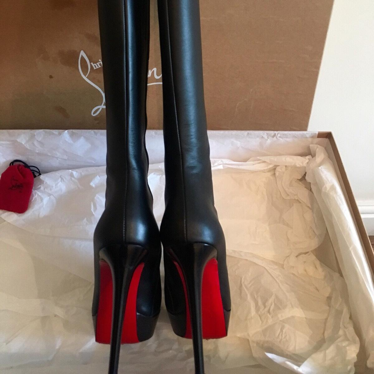 newest 9af4a ed5ab Authentic Louboutin Boots for sale!! in SW15 Wandsworth for ...