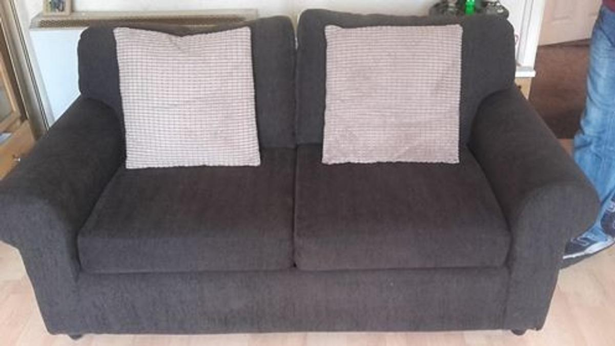Groovy Som Toile 2 Seater Sofa Bed In Nuneaton And Bedworth Fur 75 Caraccident5 Cool Chair Designs And Ideas Caraccident5Info