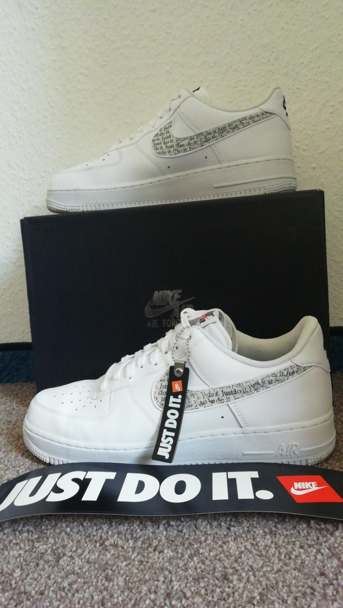Nike air force 1 just do it zum verkaufen